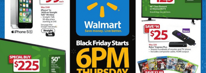 Walmart Black Friday Ad 2016