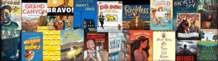 winners of the 2018-2019 Texas Bluebonnet Award