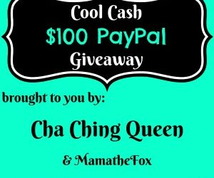 100 dollars Cool Cash PayPay giveaway