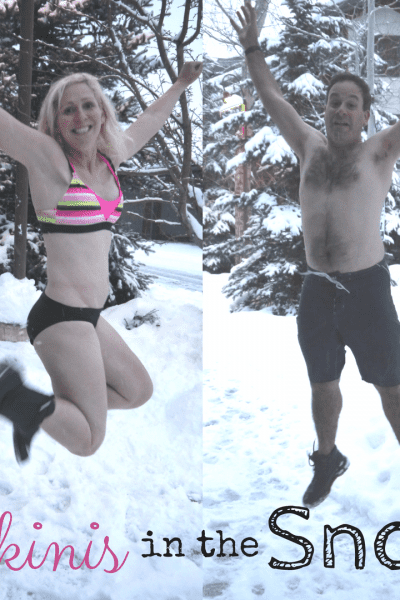 Bikinis in the Snow Instagram