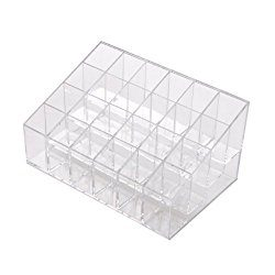 Cosmetic organizer with 24 compartments deal