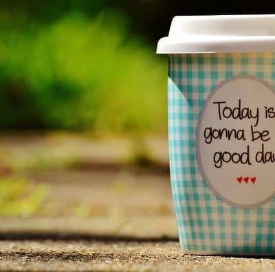 beautiful day mug travel mug