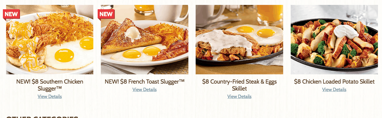 dennys new affordable menu options with all you can eat pancakes for 4 dollars