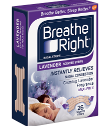 free sample of breathe right strips