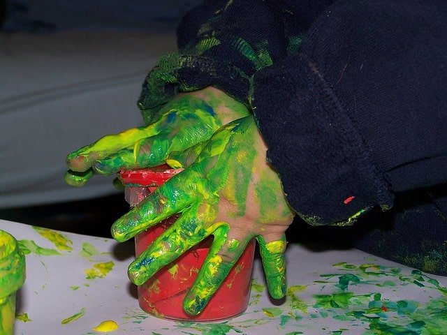 finger painting