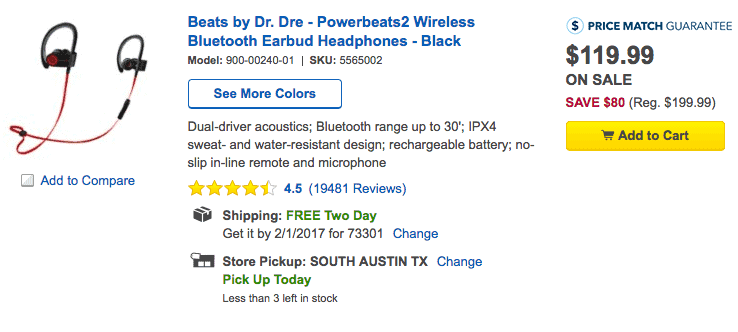 wireless bluetooth headphones deals beats by dr dre