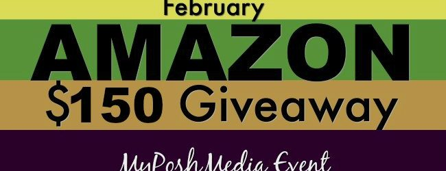 $150 Amazon Gift Card Giveaway February 2017