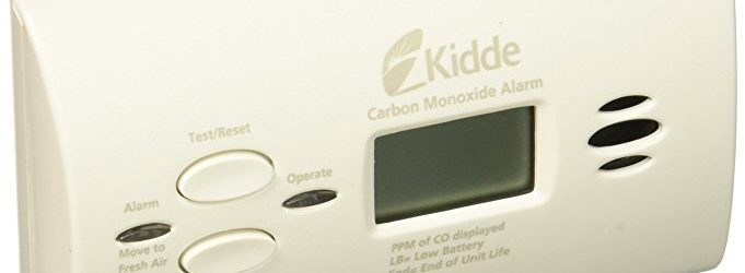 Battery-Operated Carbon Monoxide Alarm with Digital Display Deal