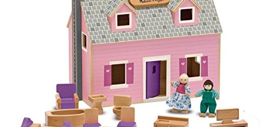 Melissa & Doug Fold & Go Dollhouse Discounted