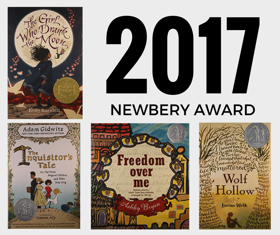 Newbery Award Winners 2017 List - prestigious children's literature award