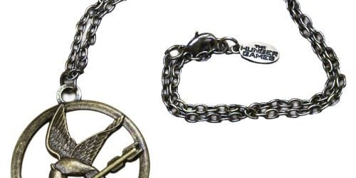 The Hunger Games Movie Necklace Mocking Jay Discount