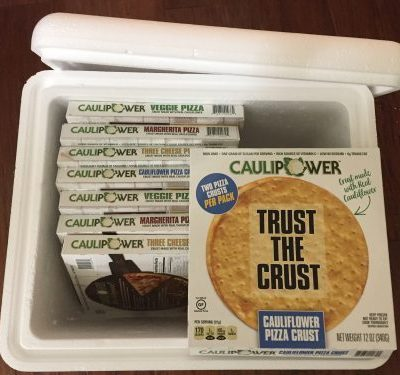 CAULIPOWER Ready-to-cook Cauliflower Crust Pizza – Review and Giveaway