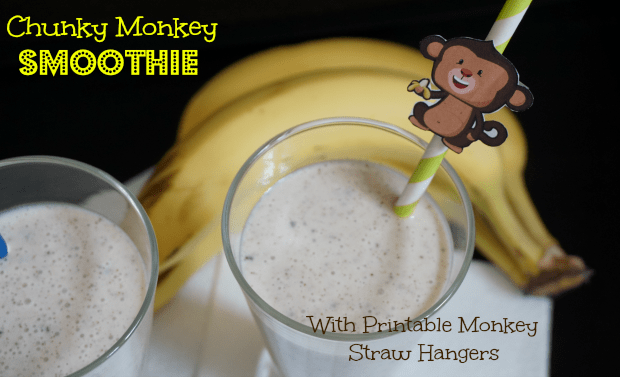 Chunky Monkey Smoothie Recipe