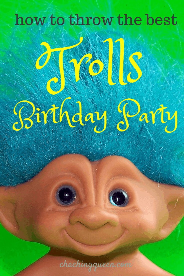 How to throw the Best Trolls Birthday Party