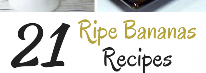 Ripe Bananas Recipe Ideas (1)