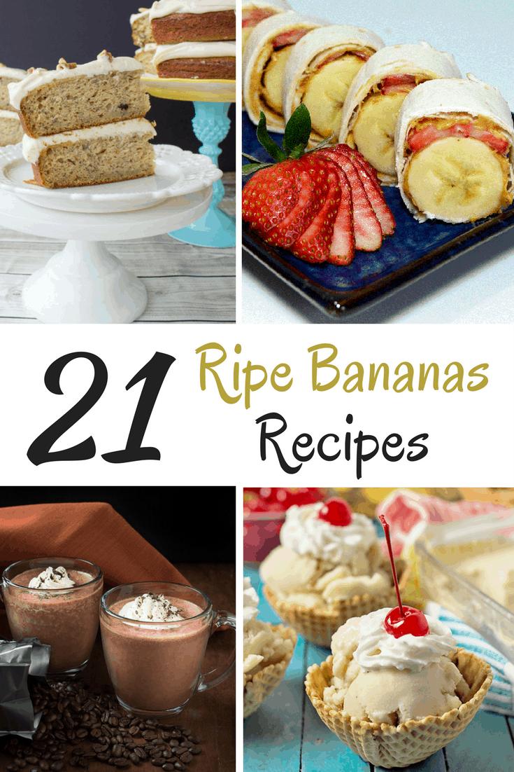 Ripe Bananas Recipe Ideas (1)