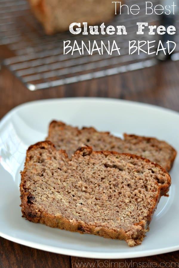 gluten-free banana bread with ripe bananas recipe