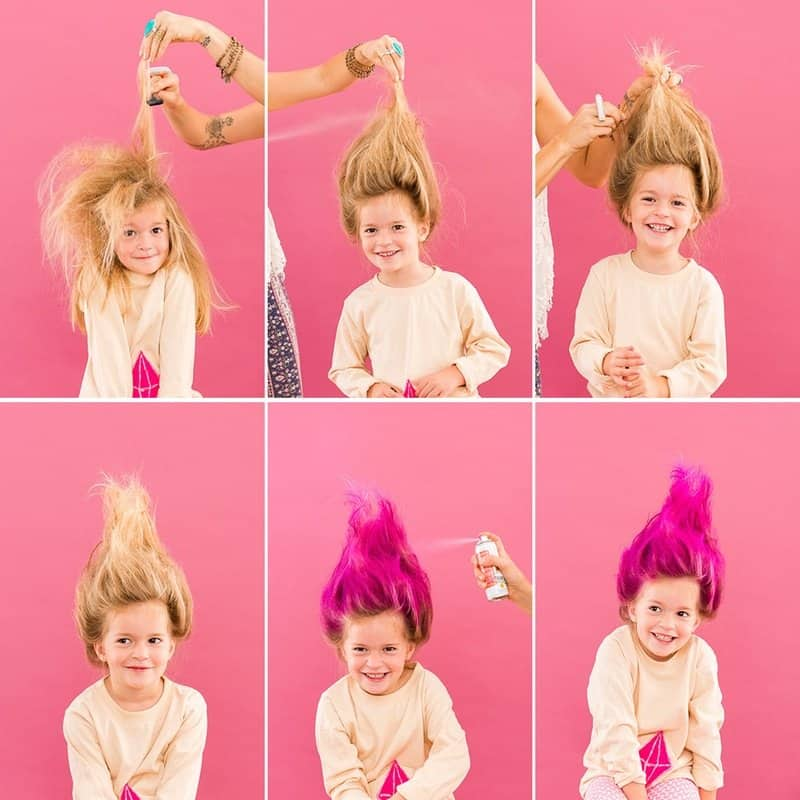 kids-troll-hair do diy-tutorial