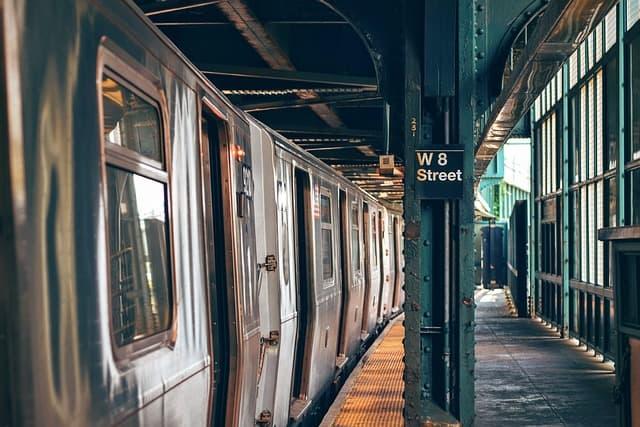 public transportation subway spring break staycation ideas