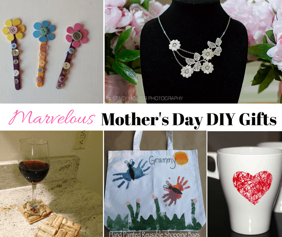 Homemade DIY Mother's Day Gifts And Crafts Ideas