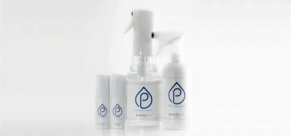 Purefy natural cleaning products