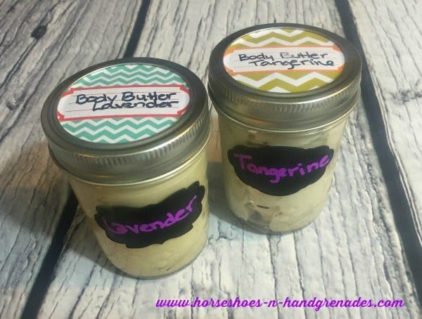 homemade body butter gift idea diy mothers day
