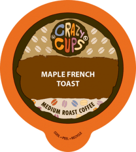 maple french toast coffee crazy cups single serve cups