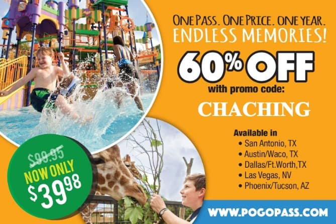 pogo pass coupon san antonio austin waco dallas ft worth las vegas tucson phoenix pogopass promo code