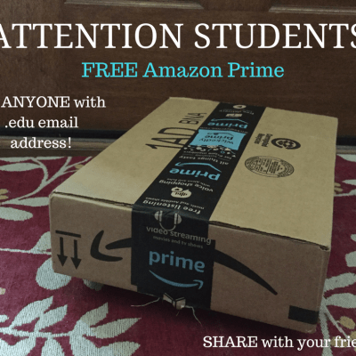 Deal for Students! Free Amazon Prime for Students