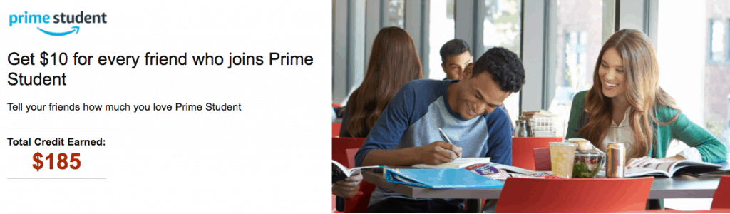 amazon referral code credit - make money prime student referrals
