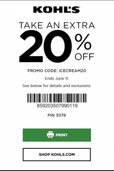 The Best Kohls Printable Coupons and Codes December 2019