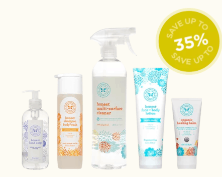 Essentials Bundle Subscription of Environmentally Friendly Cleaning Products and Personal Care Items