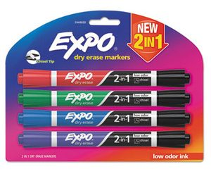 Expo Dual Ended Dry Erase Markers
