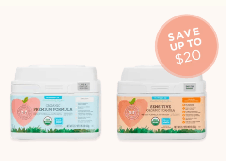Organic Baby Formula Subscription Bundle