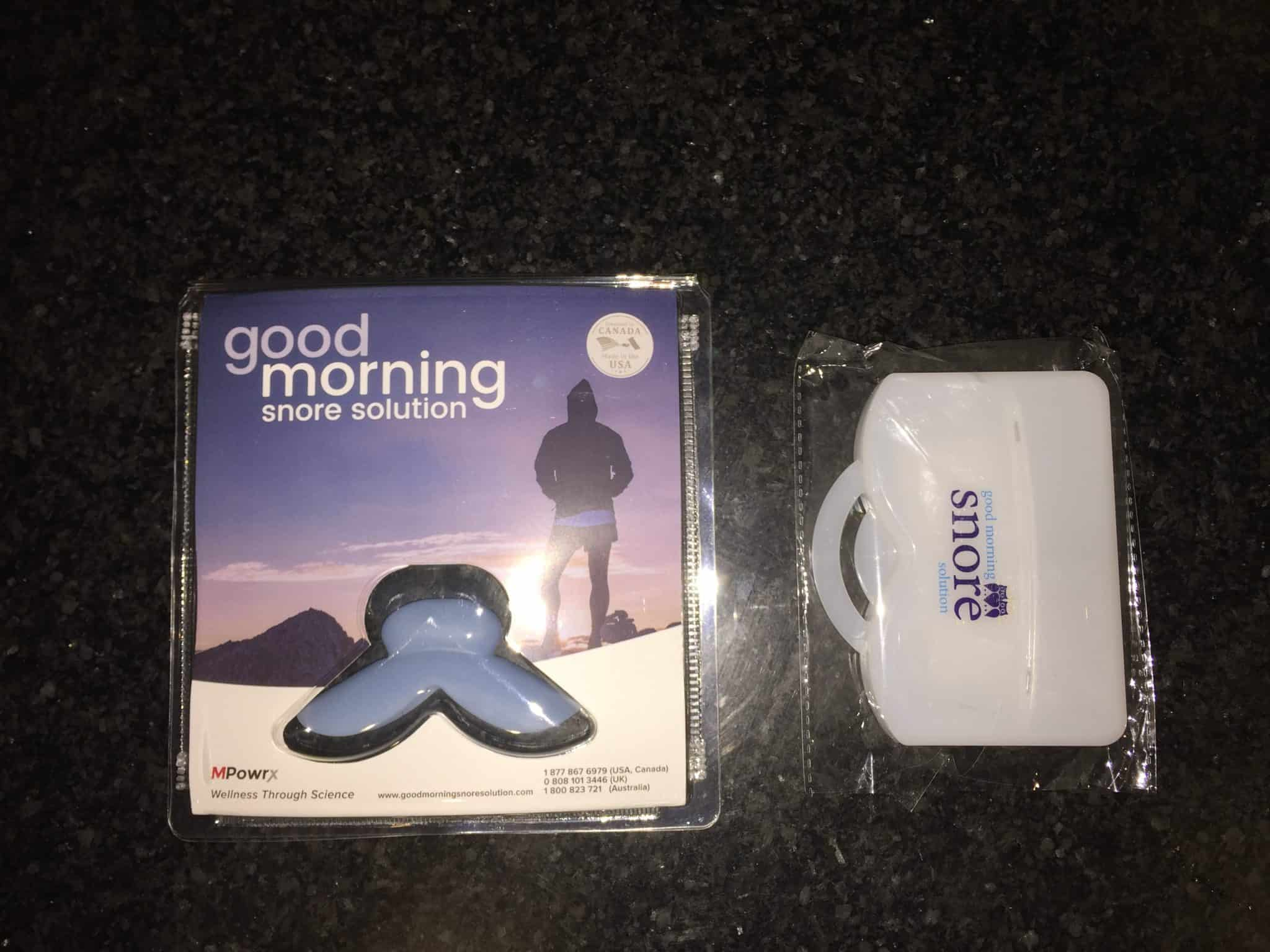 Such a brilliant invention! I wear it every night. My dentist was impressed with the simplicity of the Good Morning Snore Solution and confirmed that it is perfectly safe to wear all night. I gave one to my son for his TMJ. The trick, for me, is to relax my tongue and my jaw so the device has room to rest comfortably.4/4(9).