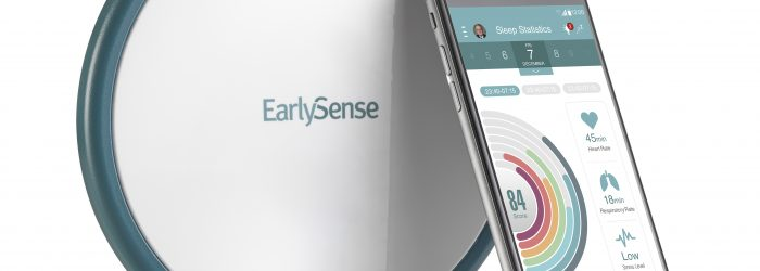 earlysense live sleep tracker photo