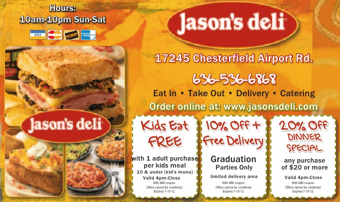 money mailer jasons deli coupons