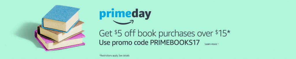 prime day book deals 2017