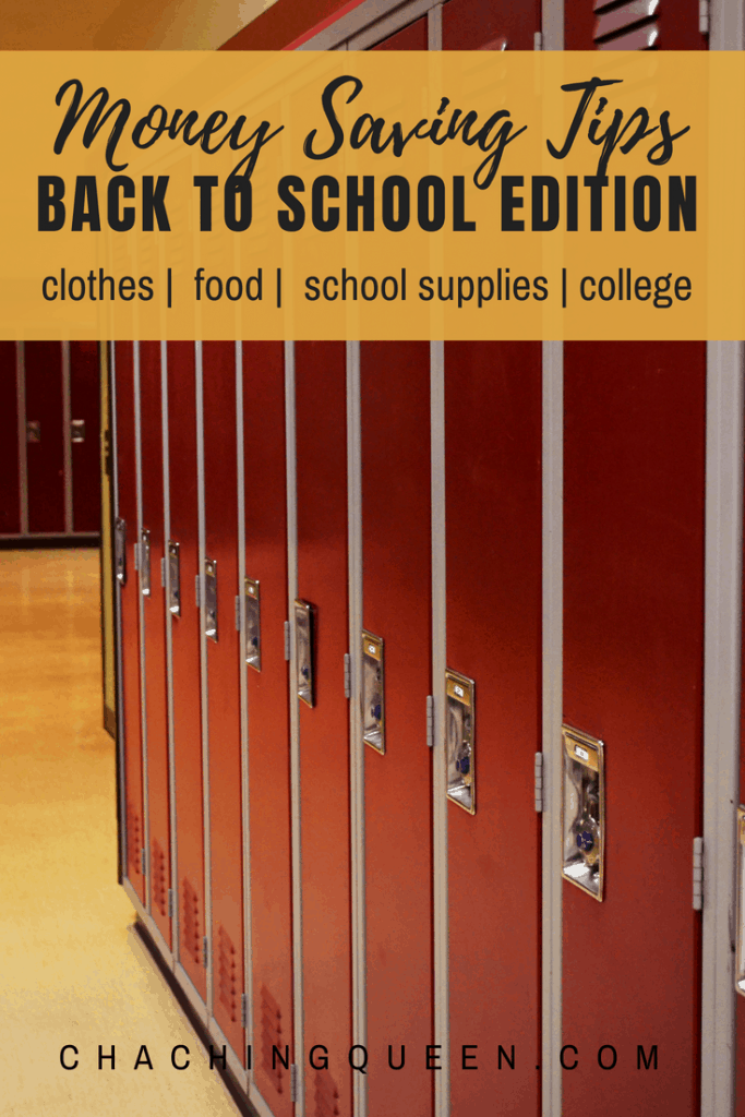How to Save Money on Back to School Shopping - money saving tips family blogger