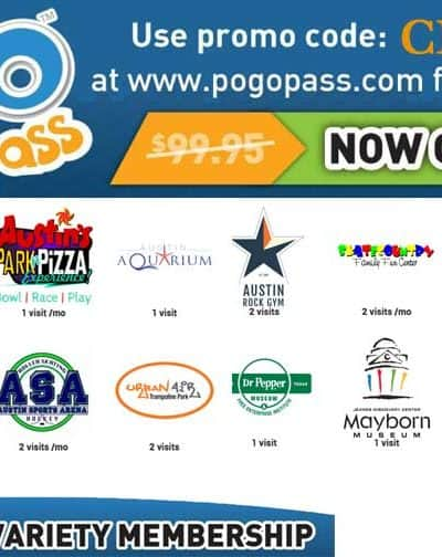 Austin's Park and Pizza Coupons and Deals 2019