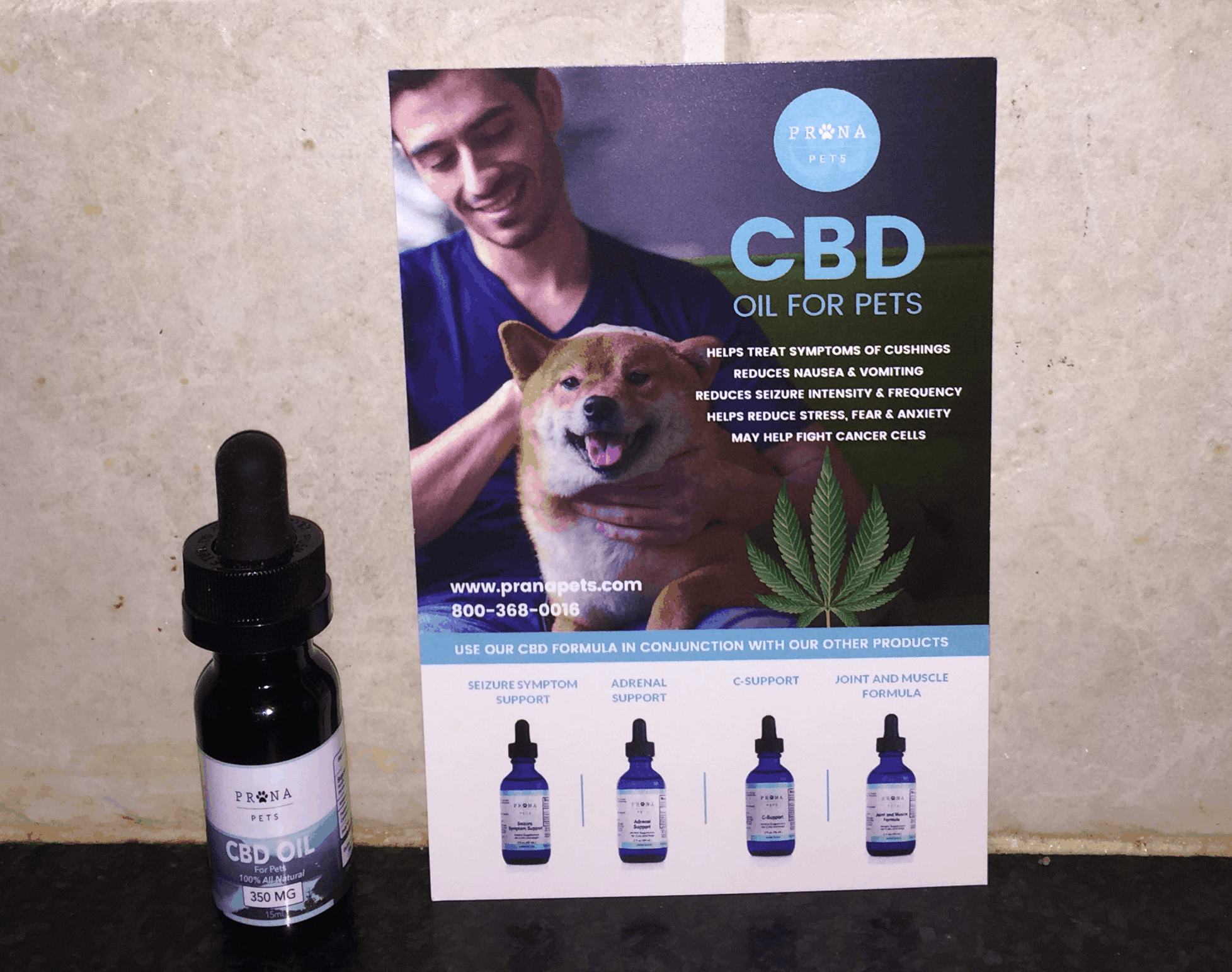cbd oil for pets now available