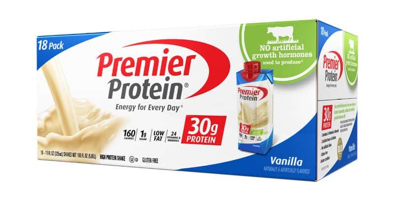 premier protein box vanilla