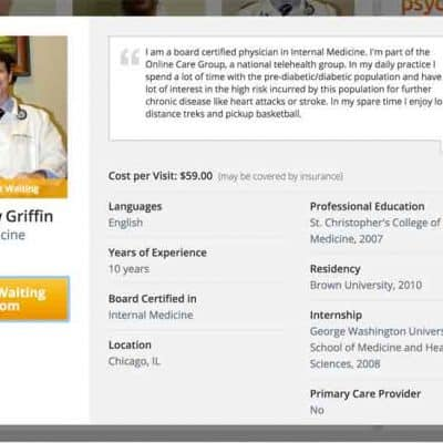 Amwell – Online Urgent Care Doctors