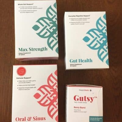 Benefits of Probiotics + SimplyBiotix Giveaway