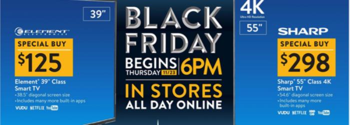 Walmart Black Friday Ad 2017 - Deals and Discounts sneak peek