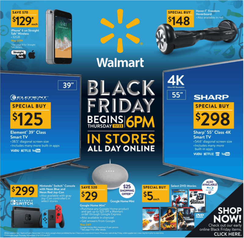 Walmart Black Friday Ad 2017 – Deals and Discounts %%page%%