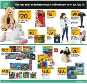 Walmart Black Friday Ad 2017 kids games plush unicorn tickle me elmo