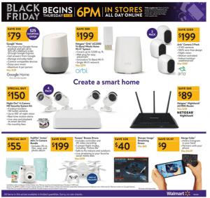 Walmart Black Friday Ad 2017 orbi netgear home security system kit
