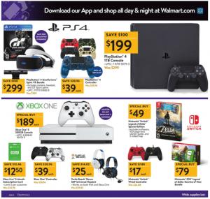 Walmart Black Friday Ad 2017 playstation 4 grantourismo sport vr bundle xbox one