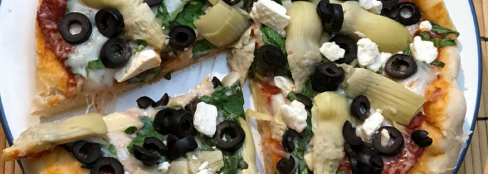 Make your own pizza night - homemade pizza dough recipe
